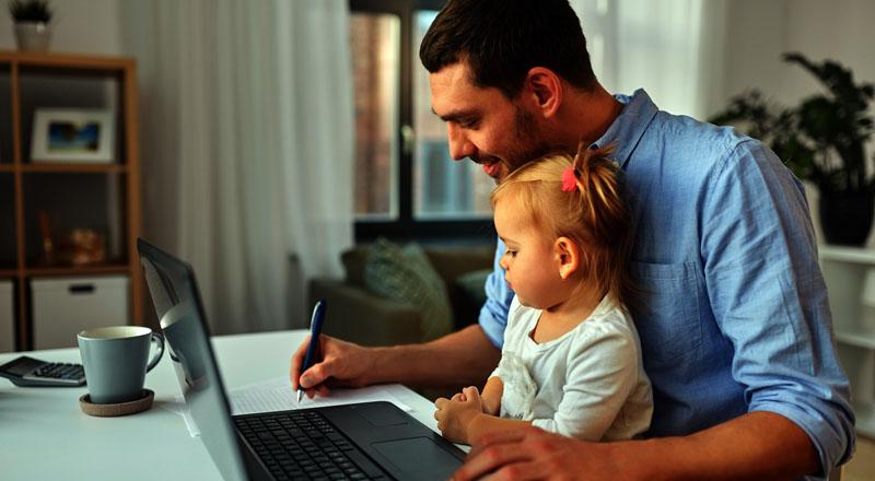 Niños y teletrabajo: Tips para conciliar productividad y equilibrio familiar - Technocio