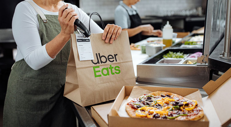 """Uber Eats lanza la opción de """"contribuir"""" a restaurantes por medio de la  aplicación - Technocio"""