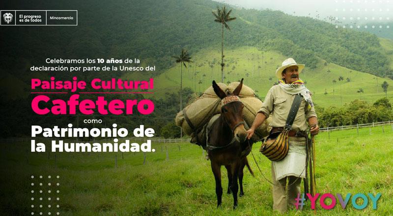 Paisaje Cultural Cafetero de Colombia cumple 10 años como Patrimonio Mundial  - Technocio